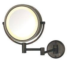 Wall Mirror Lights Bathroom by Light Bathroom Mirrors Bath The Home Depot