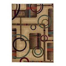 5 X 7 Area Rug Non Slip Backing Brown 5 X 7 Area Rugs Rugs The Home Depot