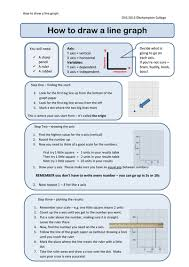 how to draw a line graph by oliviavsmith teaching resources tes