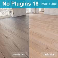 wooden floor 18 without plugins 3d cgtrader