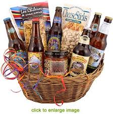 cool gift baskets the gift basket microbrew gift