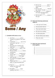 Countable And Uncountable Some Any Exercises Pdf 18 Best Some Any Much Many Images On Grammar