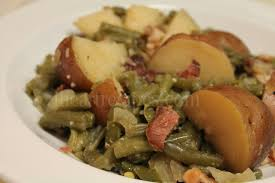 southern green beans bacon and potatoes i heart recipes