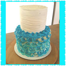 cake tier part 1 rosette tier cake frosting the top tier