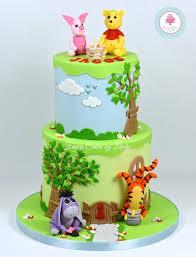 winnie the pooh cakes disney inspired winnie the pooh themed birthday cake cake by