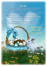 easter bunny letter write a cute letter to your child children
