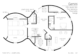 house plan two floor round home with garage alternative homes