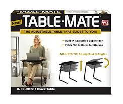 table mate ii folding table mate ii folding tv tray black