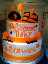 sf giants baby shower cake cakecentral com