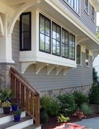 window bump out house exterior pinterest window bay black trim on windows brown trim to match roof of project house