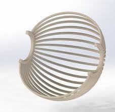 siege boule suspendu un fauteuil boule suspendu par toutenbois sur l air du bois