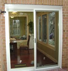 5 Foot Sliding Patio Doors Shutters For Sliding Glass Doors Home Bypass Plantation Shutters