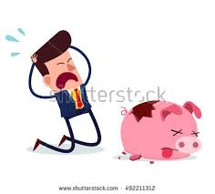 His And Hers Piggy Bank Piggy Bank Vector