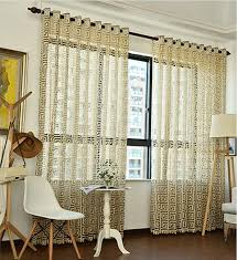 Greek Key Pattern Curtains New Custom Made Eurpean Style Luxury Greek Key Curtains Grid