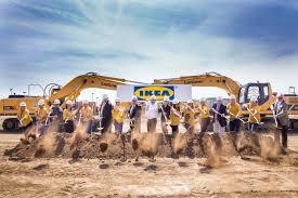 ikea breaks ground at site future burbank relocation where