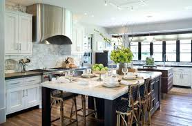 Kitchen Island Seats 6 Kitchen Island Designs With Seating For 6 View In Gallery Kitchen