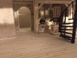 jenn s mini worlds a dollhouse miniaturist s blog jenn s first floor with spiral staircase and kitchen installed