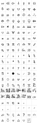 glyph symbol meaning 1651 alchemy symbols glyphs myfonts apothecary home