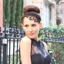 jewelled headdress twilight headdress black swarovski vintage jewelled