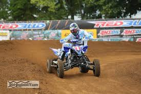 ama atv motocross wienen and yfz 450r secure second consecutive ama pro atv title