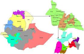 Map Of Ethiopia Map Of The Study Area At Dabat District In Northwest Ethiopia