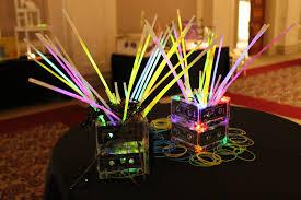80s party table decorations combine items table centerpieces like hybrid glow billion estates