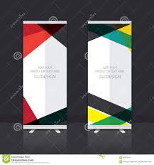 Stand Up Flag Banners Roll Up Banner Design Stock Vector Image Of Background 58242330
