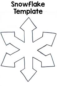 snowflake template free christmas and winter craft patterns