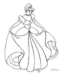 robe de mariã e disney coloriage ã dessiner de cendrillon en robe de mariã e