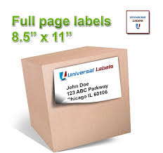 amazon com 100 full page shipping labels heavyweight label for