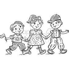 royalty free children celebrating 381588 vector clip image