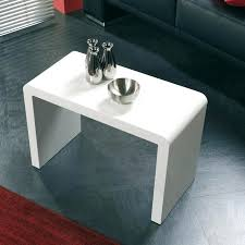 table pour canapé table d appoint pour canape table d appoint design laqu e blanc