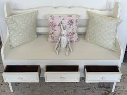 Shabby Chic Cushions Uk by Shabby Chic U0027antique White U0027 Bench Home Sweet Homehome Sweet Home
