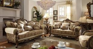 upholstered living room furniture hd506 argentina ivory gold upholstered sofa and love seat