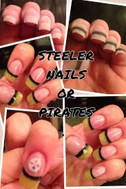 37 best nail design images on pinterest pittsburgh steelers
