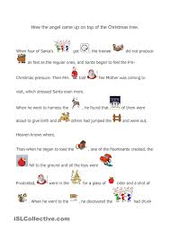 a christmas story esl pinterest worksheets printable