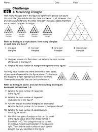top exterior and interior angles of a triangle worksheet