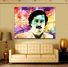 abstract wall art pablo money pop art framed canvas wall art royal crown pro