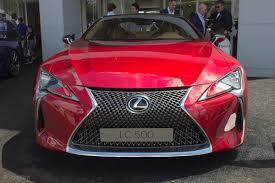 lexus lc 500 competition lexus lc 500 goodwood 2016 sees the concept become reality