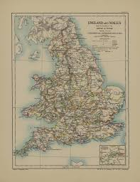 Modern Europe Map by Map Page Of Section Xxii England And Wales After The Acces U2026 Flickr