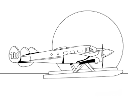 airplane coloring pages coloringsuite com
