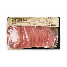 reduced fat wood smoked bacon 200g woolworths co za