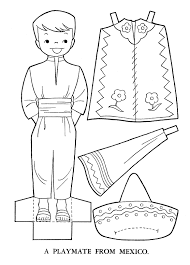 mexico coloring pages 4285