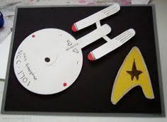 homemade star trek birthday card things i u0027ve made pinterest
