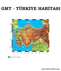 Mapping Tools Generic Mapping Tools Gmt Harita Online