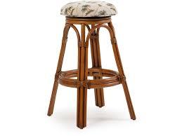 palm springs rattan bar and game room backless swivel bar stool