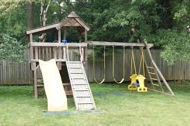 outdoor vinyl swingset with swingset clubhouse and swing set also