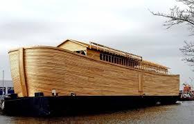in pictures dutchman builds life sized replica of noah u0027s ark