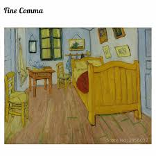 bedroom in arles bedroom in arles 2nd version by vincent van gogh hand painted oil