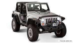 jeep wrangler stance bushwacker 10919 07 jeep flat style fender flare set of 4